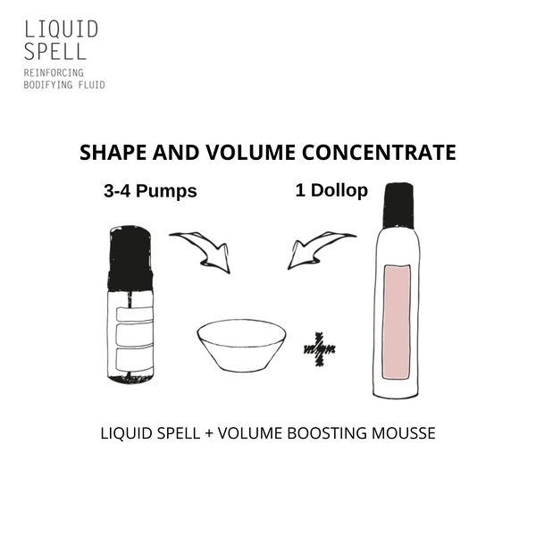 Davines LIQUID SPELL + MORE INSIDE This is a Volume Boosting Mousse - DAVINES I SUSTAINABLE BEAUTY