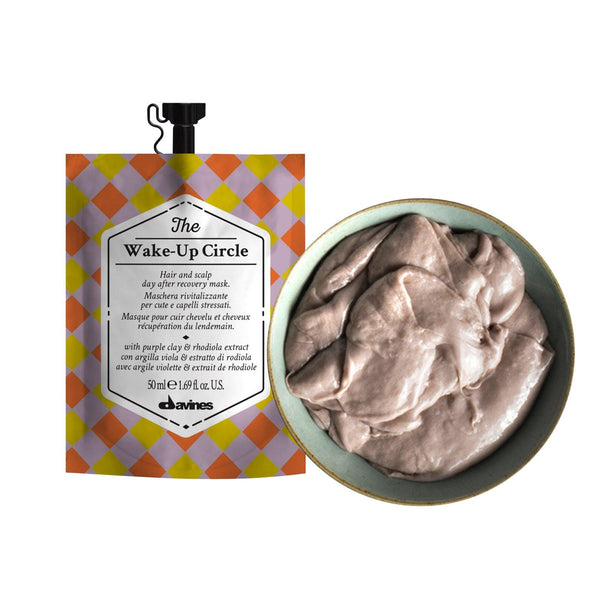 Davines THE CIRCLE CHRONICLES I The Wake-Up Circle Hair Mask (Set of 3) - DAVINES I SUSTAINABLE BEAUTY