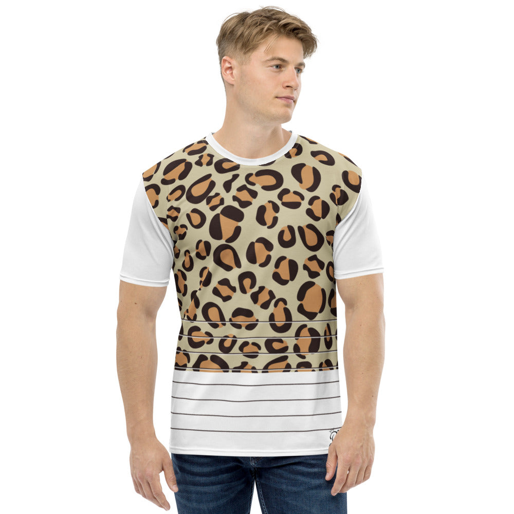 Leopard print Men's T-shirt