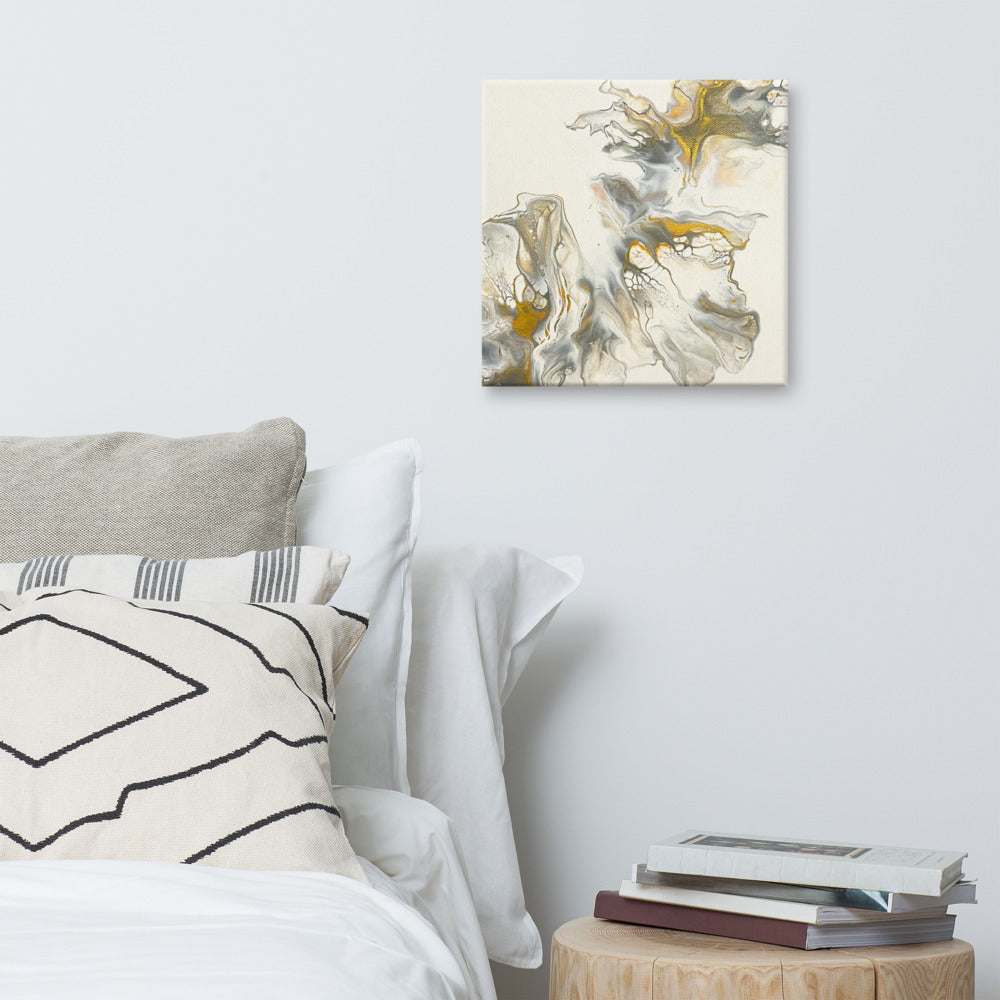 Belle abstract art print Canvas