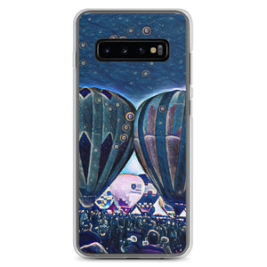Balloon blue Samsung Case