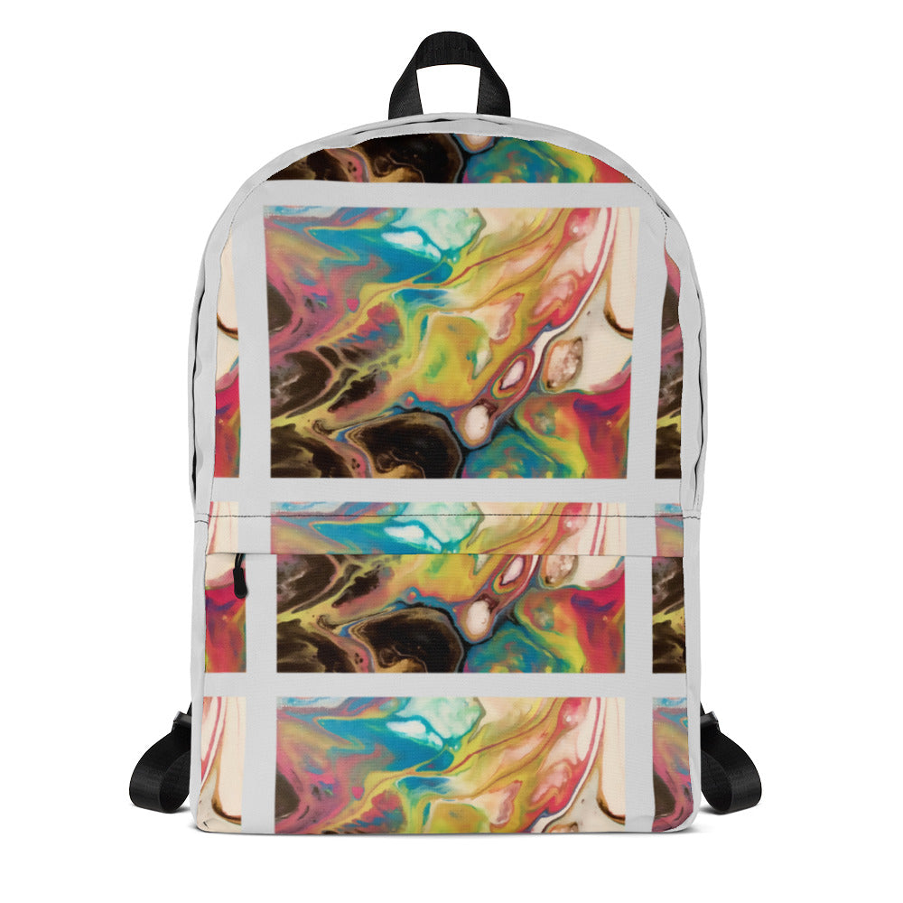 The Light abstract Backpack
