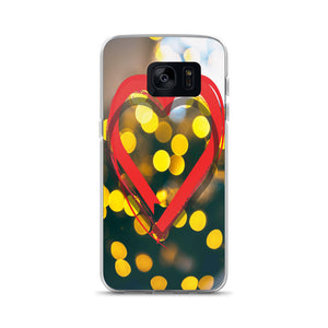 Red Heart Samsung Case