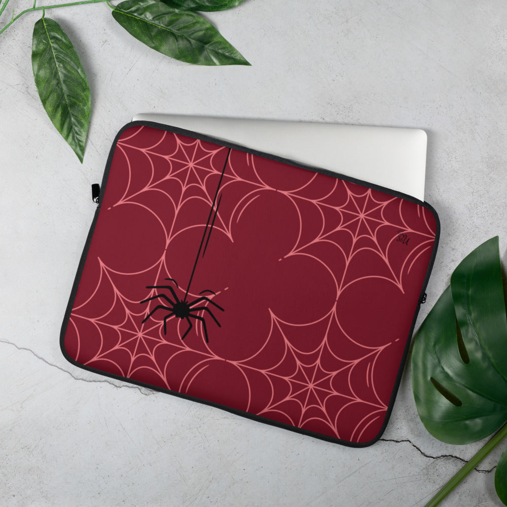 Into my web Laptop Sleeve LIMITED