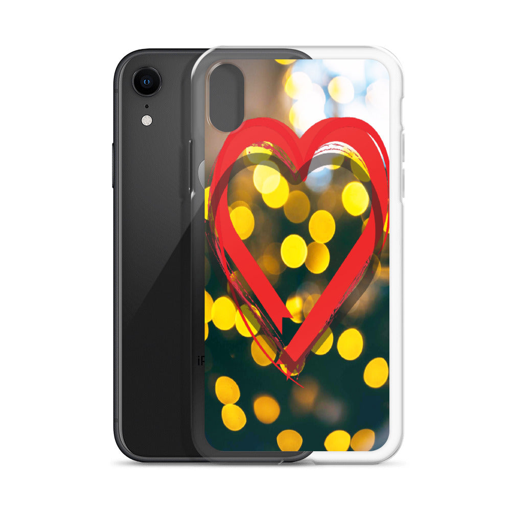 Red Heart iPhone Case