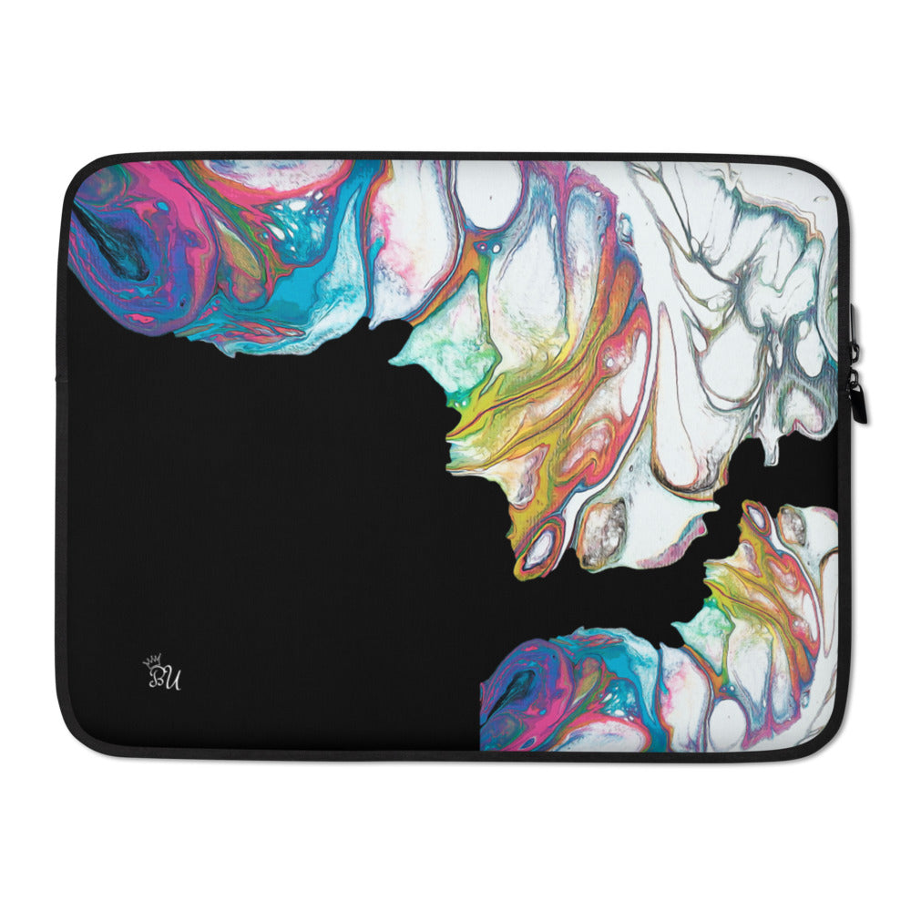 midnight Touch abstract Laptop Sleeve