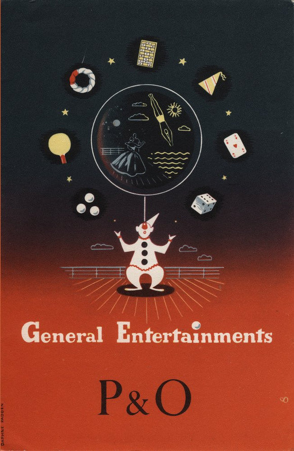 P&O - General Entertainments