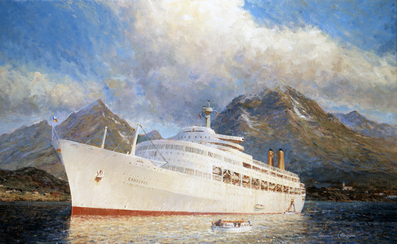 CANBERRA at Lofoten, Norway