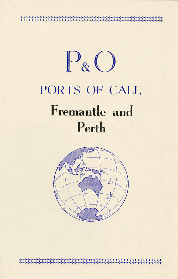 P&O Ports of Call - Fremantle and Perth