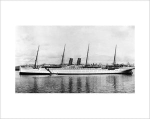 CALEDONIA as a troopship