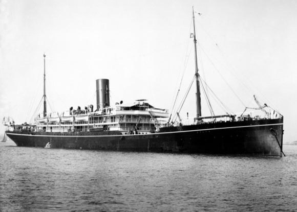DELTA at anchor