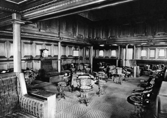 The Smoking Room on board MARMORA