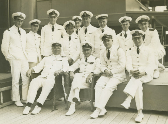 Officers onboard MALOJA