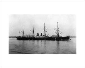 ORIENT at anchor