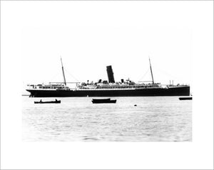 ORONTES at anchor