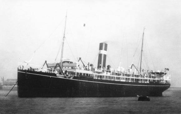 ROHILLA at anchor