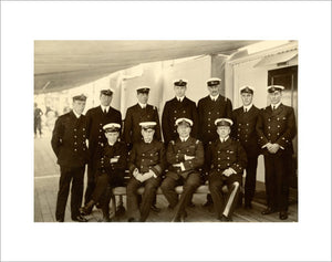 Captain and Senior Officers onboard PLASSY