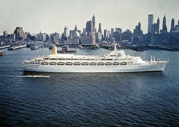 CANBERRA's maiden call at New York