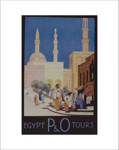P&O Egypt Tours Advert, 1934
