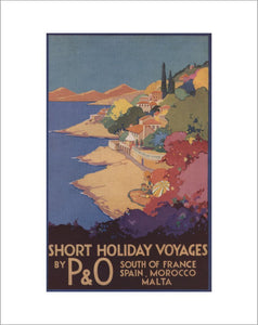 Short Holiday Voyages by P&O