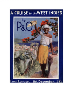 P&O Brochure for Cruise to West Indies