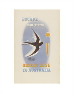 Orient Line to Australia - Escape from winter