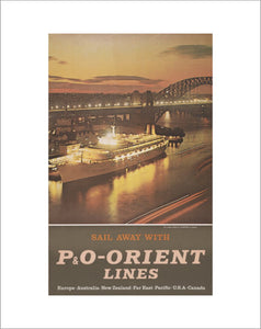 Sail away with P&O-Orient Lines