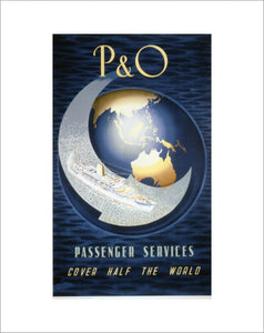P&O Passenger services cover half the world