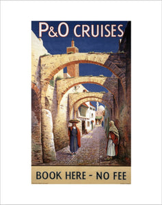 P&O Cruises - Book Here no fee