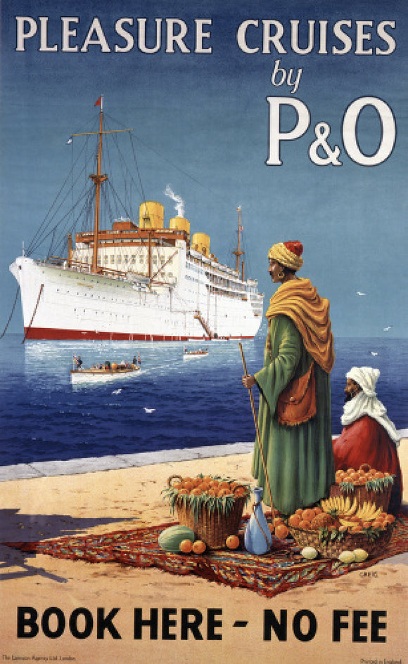 Pleasure Cruises by P&O - Book here no fee