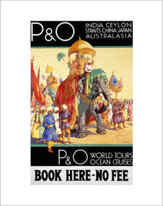 P&O World Tours, Ocean Cruises