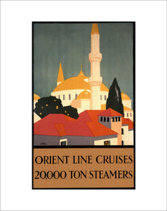 Orient Line Cruises - 20,000 Ton Steamers