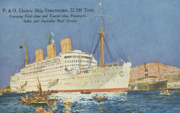 P&O electric ship STRATHAIRD