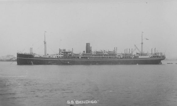 BENDIGO at anchor
