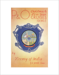 P&O Christmas & New Year Cruises, 1934-5