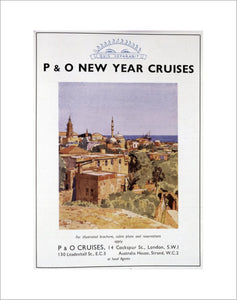 P&O Advert for New Year Cruises