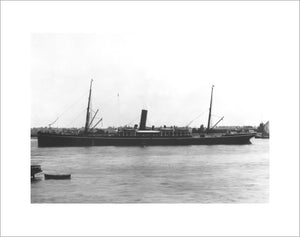 BORNEO at anchor