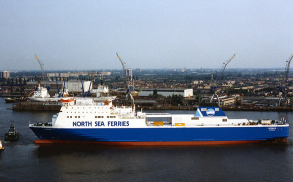 NORBANK entering Hull
