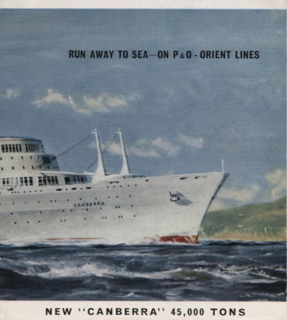 'Run Away to Sea' brochure