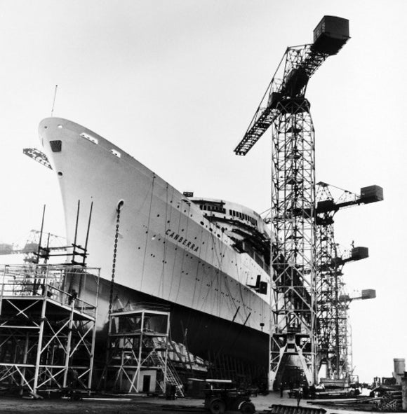 Preparations for the launch of CANBERRA