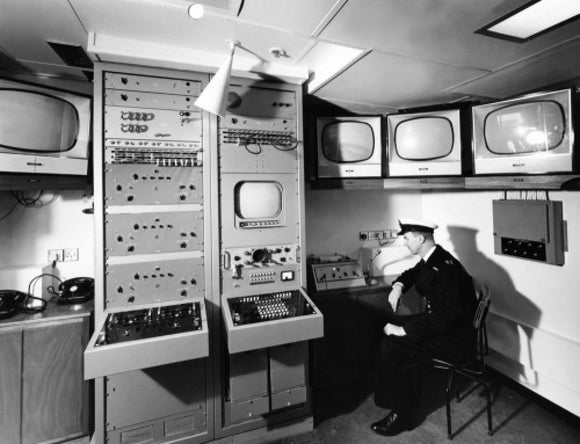 CANBERRA's Television Control Room
