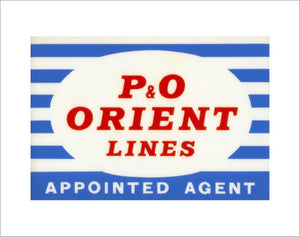 Appointed agent's window sticker
