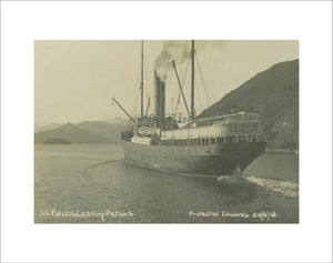 PATEENA leaving Picton