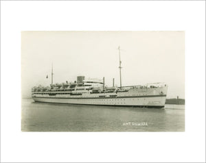 DILWARA as a troopship