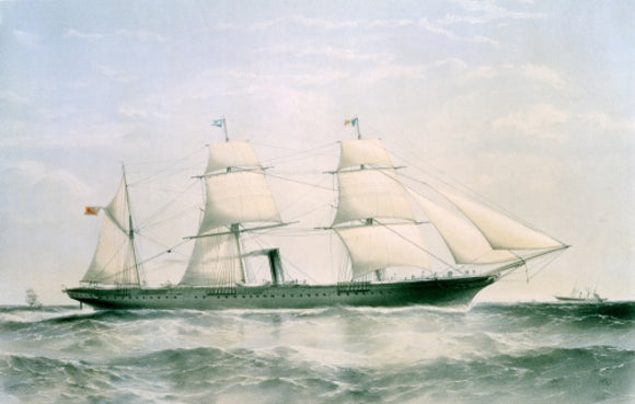 MOOLTAN at sea