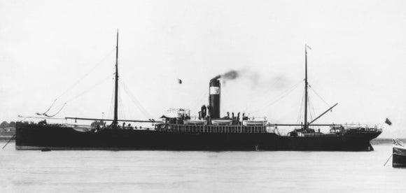 WILCANNIA at anchor