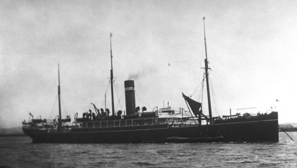 JELUNGA at anchor