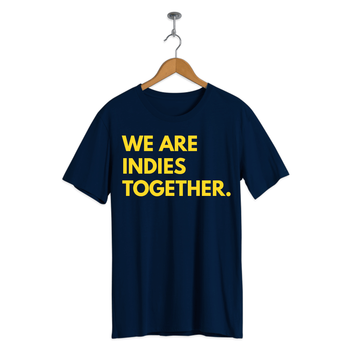 JXP Indies Together shirt (Navy Blue)