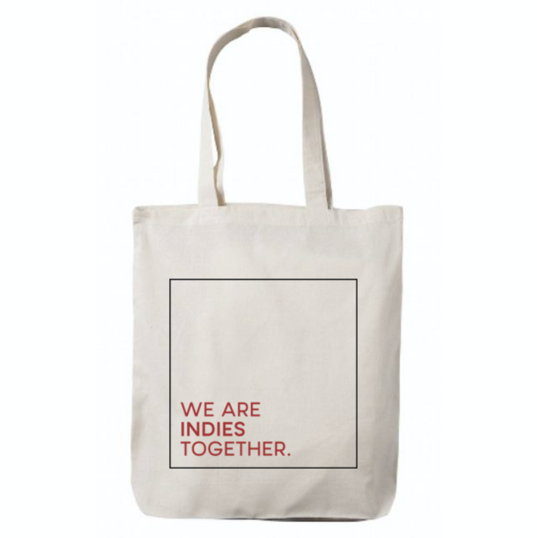 JXP We Are Indies TOGETHER Tote Bag (Line)
