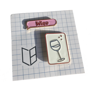 Clara Benin Wine pin pack